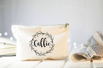 cosmetic bag gift for bridesmaids