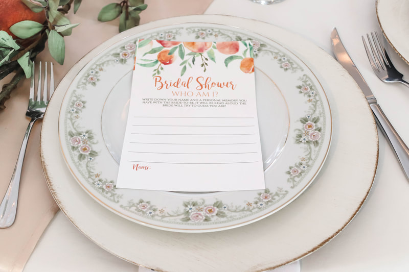 Bridal luncheon game ideas