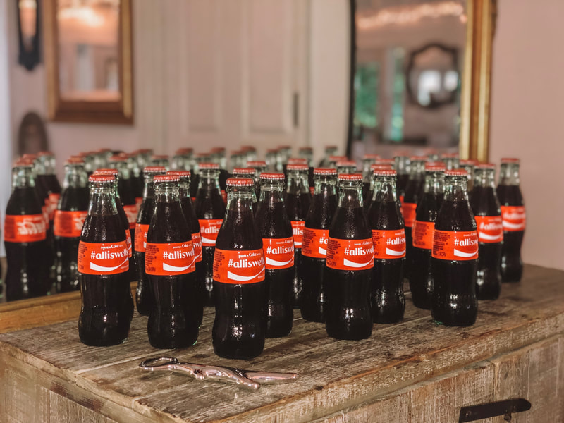 Coca-Cola party favors
