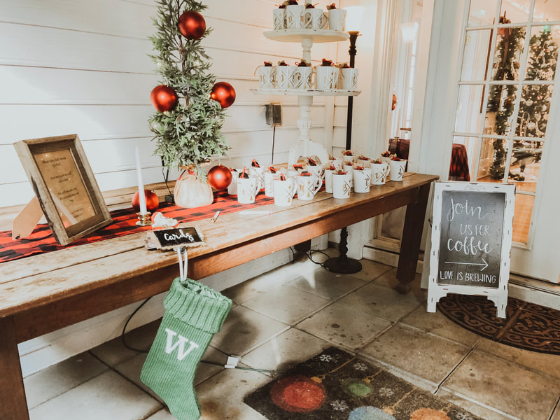 hot cocoa bar holiday favors